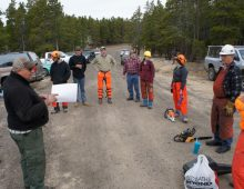 Chainsaw Safety Class (CCC) – May 14-15, 2016